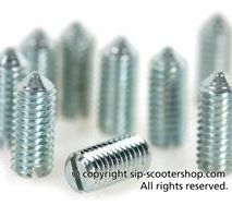 Vespa legshield trim screw set M5 x 12mm PASCOLI