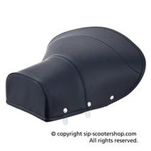 Vespa dark blue budget saddle seat cover