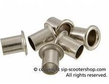 Vespa horn rivet repair kit