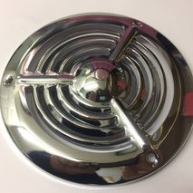 Lambretta LD Flywheel Fan Cowl Cover (Chrome) 1955-58