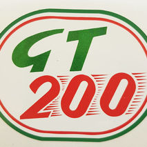 Lambretta GT200 self adhesive sticker