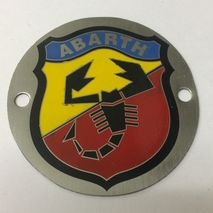 ABARTH printed badge 54mm
