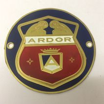 ARDOR 54mm shield badge