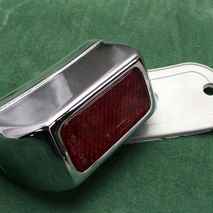 chrome plated rear light