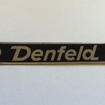 Vespa DENFELD seat badge
