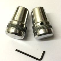Vespa polished alloy stand feet PX /T5 /PK /Cosa