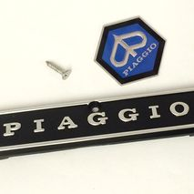 Vespa PX Mk1 horn cover badges