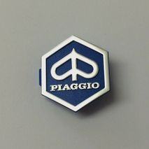 Vespa Piaggio diamond horn cover badge