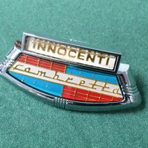 Lambretta horncast badge Innocenti shield for Series 2 & 3
