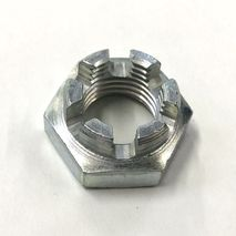 Vespa Castellated Front & Rear Hub Nut GS /SS / 90 etc
