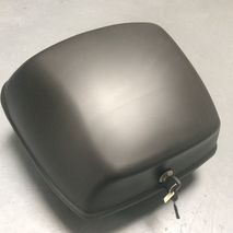 Piaggio satin black top box