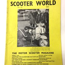 Scooter World Magazine MAY 1970