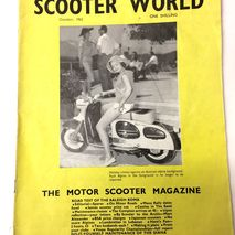 Scooter World magazine OCTOBER 1962