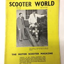 Scooter World magazine MAY 1961