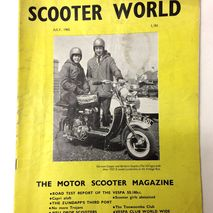Scooter World magazine JULY 1965