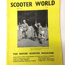 Scooter World magazine JUNE 1964