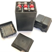 Black original style battery and NOS covers