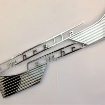 Lambretta chrome side panel badges S1 / 2